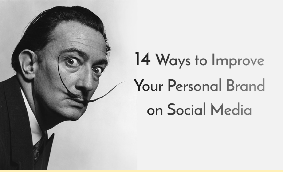 man with mustache 14 ways to improve brand